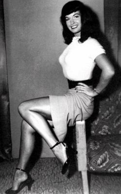 Bettie Page agoniza en un hospital de California
